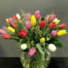 Ramo de tulipanes de colores - Envio de flores a domicilio - Santiago