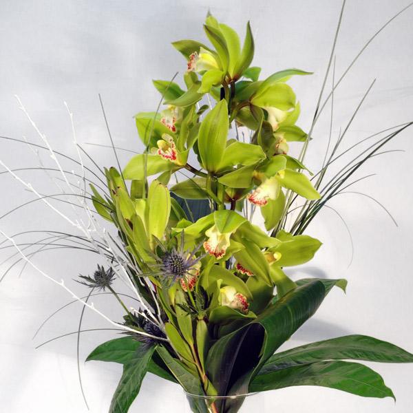 Ramo-orquideas-cymbidium-fiuncho-flores