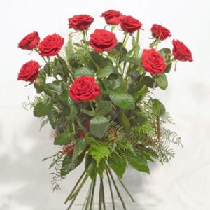 Ramo de rosas rojas Red Naomi - Fiuncho Floristeria - Santiago
