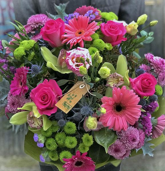 Ramo de flores Topaz - Fiuncho Floristas Santiago de Compostela