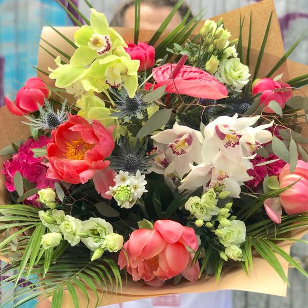 Ramo nacar - ramo de flores variadas santiago de compostela