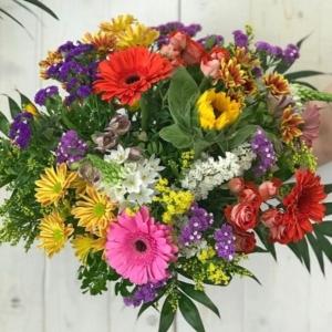 Por flores